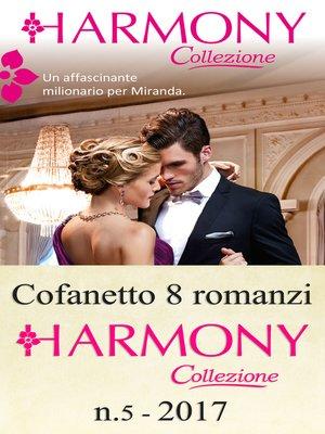 cover image of Cofanetto 8 romanzi Harmony Collezione-5