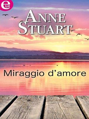 cover image of Miraggio d'amore