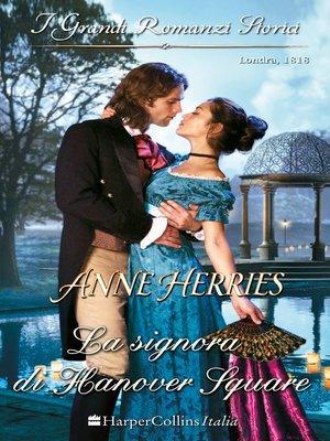 cover image of La signora di Hanover Square