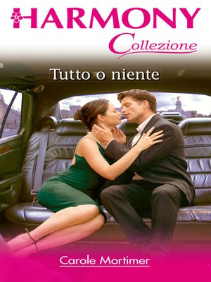 cover image of Tutto o niente