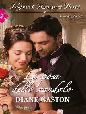 cover image of La sposa dello scandalo