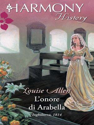 cover image of L'onore di Arabella