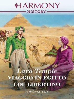 cover image of Viaggio in Egitto col libertino