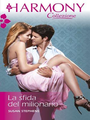cover image of La sfida del milionario