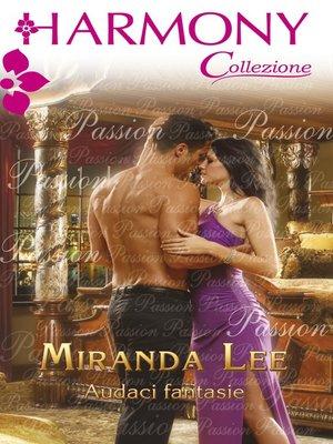 cover image of Audaci fantasie