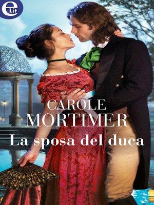 cover image of La sposa del duca