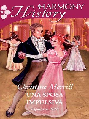 cover image of Una sposa impulsiva