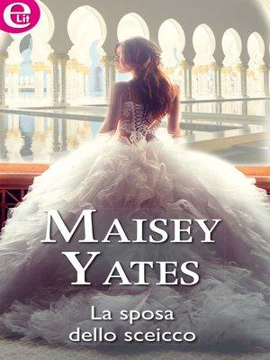 cover image of La sposa dello sceicco