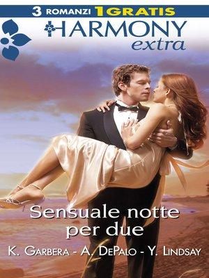 cover image of Sensuale notte per due