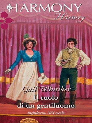 cover image of Il ruolo di un gentiluomo