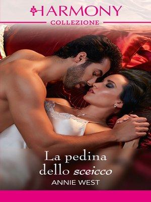 cover image of La pedina dello sceicco