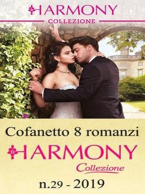 cover image of Cofanetto 8 Harmony Collezione n.29/2019
