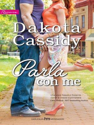 cover image of Parla con me