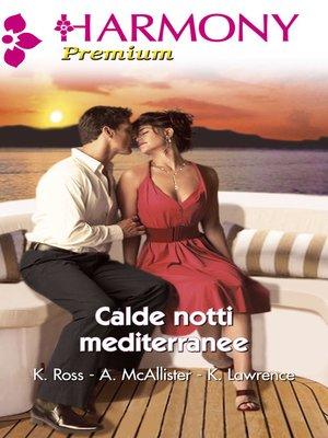 cover image of Calde notti mediterranee