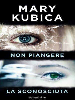 cover image of Non piangere   La sconosciuta