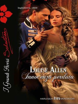 cover image of Innocenza perduta