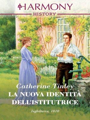 cover image of La nuova identità dell'istitutrice