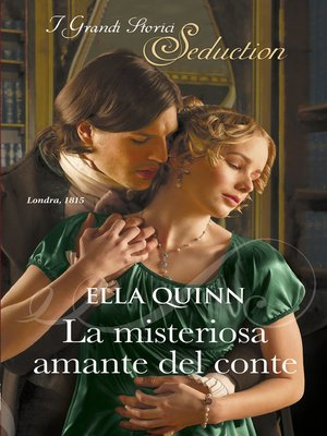 cover image of La misteriosa amante del conte