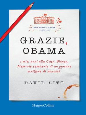 cover image of Grazie, Obama