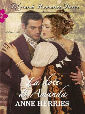 cover image of La dote di Amanda