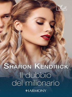 cover image of Il dubbio del milionario