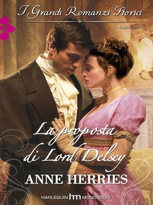 cover image of La proposta di Lord Delsey