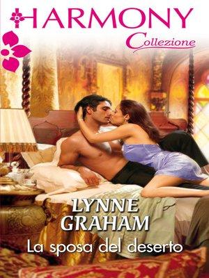cover image of La sposa del deserto