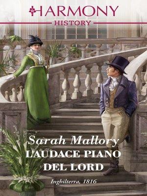 cover image of L'audace piano del lord