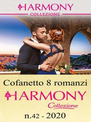 cover image of Cofanetto 8 Harmony Collezione n.42/2020