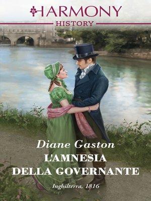 cover image of L'amnesia della governante