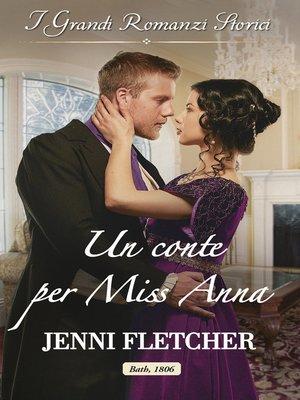 cover image of Un conte per miss Anna