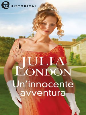 cover image of Un'innocente avventura