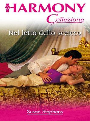 cover image of Nel letto dello sceicco