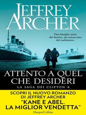 cover image of Attento a quel che desideri