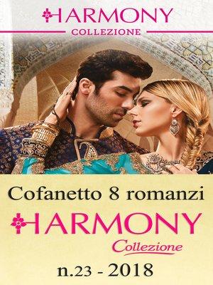 cover image of Cofanetto 8 Harmony Collezione n.23/2018