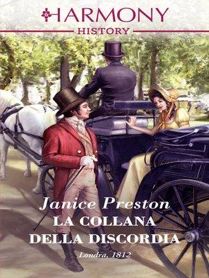 cover image of La collana della discordia