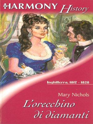cover image of L'orecchino di diamanti