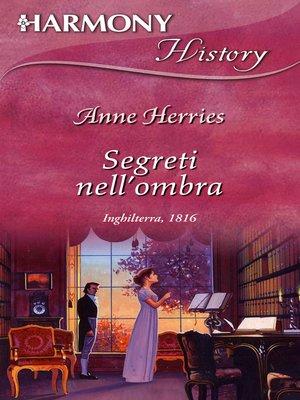cover image of Segreti nell'ombra