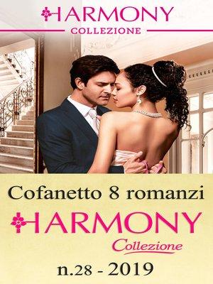 cover image of Cofanetto 8 Harmony Collezione n.28/2019