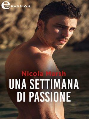 cover image of Una settimana di passione