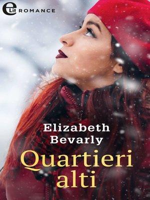 cover image of Quartieri alti
