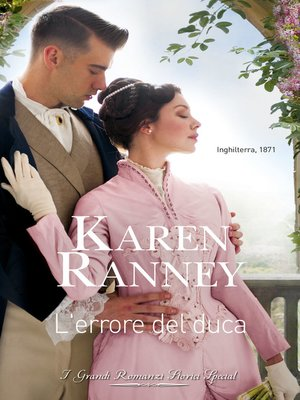 cover image of L'errore del duca
