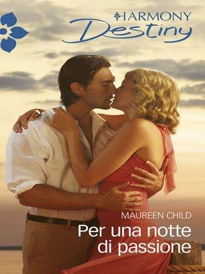 cover image of Per una notte di passione