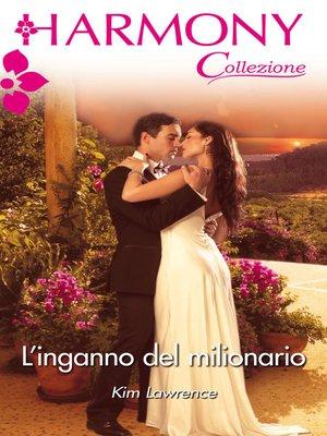 cover image of L'inganno del milionario