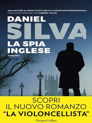 cover image of La spia inglese