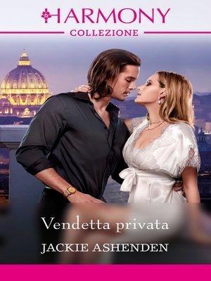 cover image of Vendetta privata