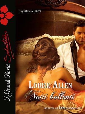 cover image of Notti bollenti