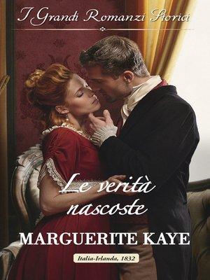 cover image of Le verità nascoste