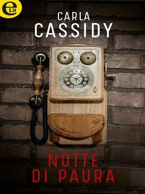 cover image of Notte di paura