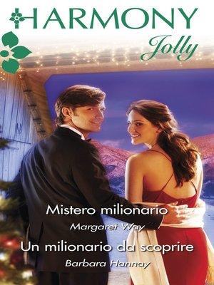 cover image of Mistero milionario